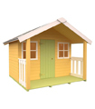 Casita Infantil de madera FÉLIX 1,9 m2