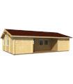 Casa Vivienda de madera URSULA 57,3 m2, pared 88 mm