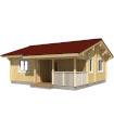 Casa Madera PAULA 40 m2 88 mm