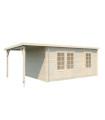Caseta de madera ELLA 13,1+3,9 m2
