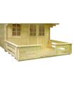 Terraza Caseta 500x120 cm