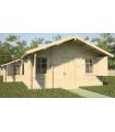 Casa Vivienda de madera CORFU 1 de 44,9 m2