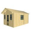 Casa Vivienda de madera CORFU 3 de 38,88 m2