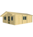 Casa Vivienda de madera CORFU 4.1 de 50,7 m2