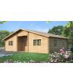 Casa Vivienda de madera CRISTI 2 de 63,6 m2