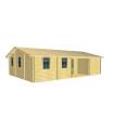 Casa Vivienda de madera INCA 1 de 71,4 m2
