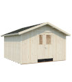 NEW 2020 Cobertizo de madera LUCAS 12,1 m2