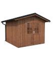 NEW 2020 Cobertizo de madera TIAGO 7,9 m2