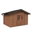 NEW 2020 Cobertizo de madera TIAGO 11 m2