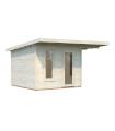 NEW 2020 Caseta de madera GRACE 8,1+4,1 m2