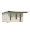 NEW 2020 Caseta de madera GRACE 12,4+4,1 m2