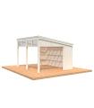 NEW 2020 Cenador de madera NOVA 13 m2 KIT