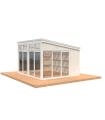 NEW 2020 Cenador de madera NOVA 13 m2