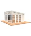 NEW 2020 Cenador de madera NOVA 17,8 m2