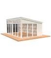 NEW 2020 Cenador de madera NOVA 21,5 m2