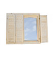 Porticón para ventana simple de 44 mm