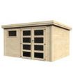 Caseta de madera PAOLO 9,7 m2