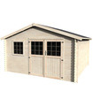 Caseta de madera FLORAN N1 13,8 m2