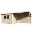 Caseta de madera EDEN N1 8,2 + 10,2 m2