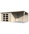 Caseta de madera DÉLICES 8,6 + 10,5 m2