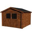 Caseta de madera tratada VALODEAL NG TM 7,4 m2