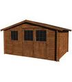 Caseta de madera tratada VALÉRIAN TM 10,1 m2