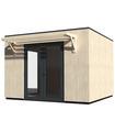 Caseta de madera STUDIO COMO 11 m2