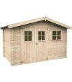 Caseta de madera LATINA 5,6 m2 (FSC Mix 70%)