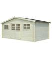 Caseta de madera LODZ 12,9 m2 (FSC Mix 70%)