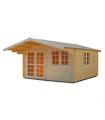 Caseta de madera ENGLAND2, 14,1 m2