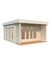 Caseta de madera CAROLINE 14,5 m2